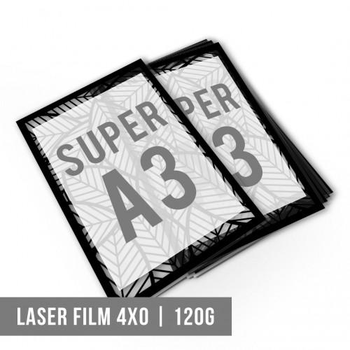 Impressão Digital SA3 Laser Film | 4x0 | 120g